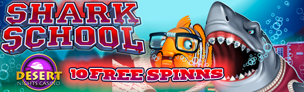 Desert Nights Casino Shark School Slot
