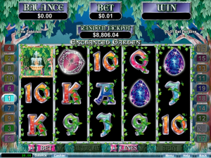 Enchanted Garden Slot Free Spins