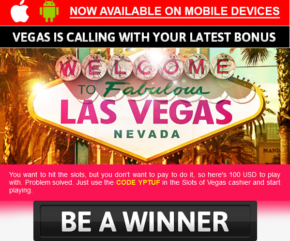 slots of vegas bonus codes 2018 - 2
