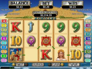 Grande Vegas Casino Achilles Slot Free Spins