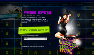 Fortune Lounge Casinos Free Spins June 2014