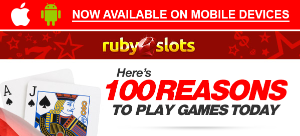 ruby casino bonus codes