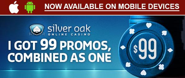 Free Silver Oak Casino Bonus