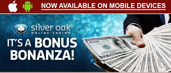 Silver Oak Casino Bonuses