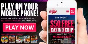 Slots of Vegas Mobile No Deposit Bonus