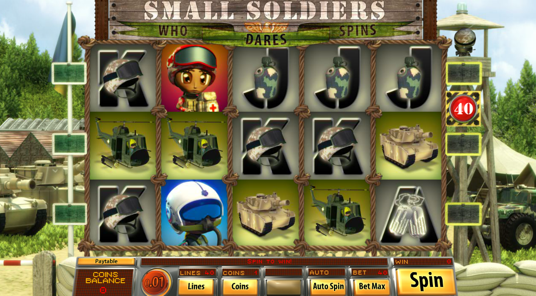 Small Soldiers Slots - Now Available for Free Online