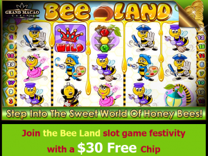 Bee Land Slot No Deposit Bonus