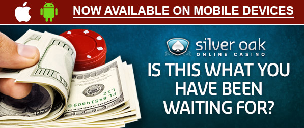 Free Silver Oak Casino Bonus Coupon