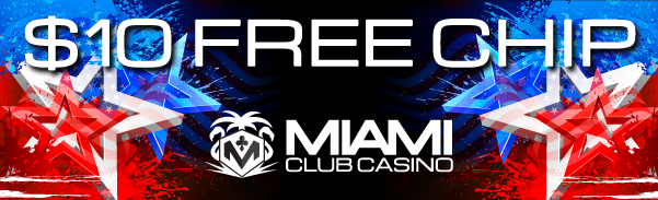 Miami Club Casino Independence Day Bonuses