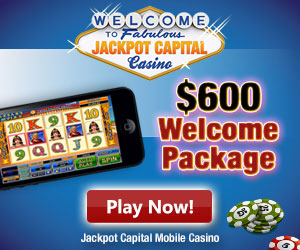 Jackpot Capital Casino Free Spins Bonus