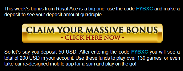 Royal Ace Casino Best Bonuses