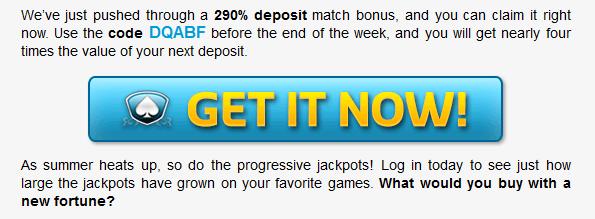 Silver Oak Online Casino Bonuses