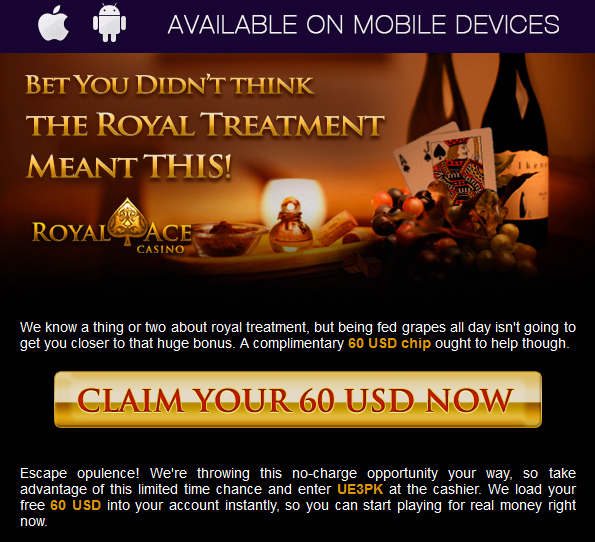 No Deposit Casino Code Royal Ace