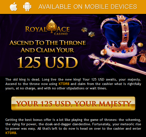 royal ace casino 2019 bonus codes
