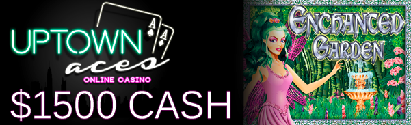 Uptown Aces Casino Cash Freeroll