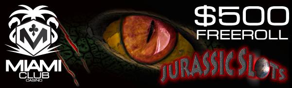 Jurassic Slots Freeroll