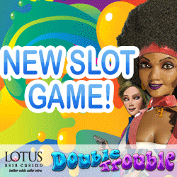 Lotus Asia Casino Double Trouble Free Spins