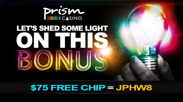 Prism Casino Free Chip Bonus