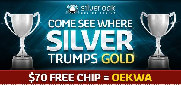 no deposit bonus code silver oak casino