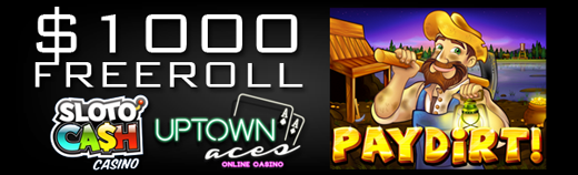 Pay Dirt Slot Freeroll