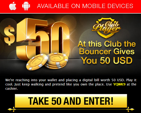 club player casino new no deposit codes 2017