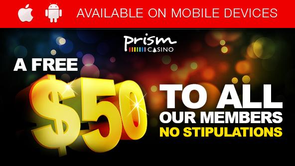 Free Prism Casino Bonus