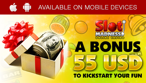 Free Slot Madness Casino Bonus