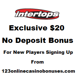 intertops casino red no deposit bonus