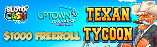 Texan Tycoon Slot Freeroll