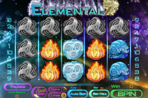 Elemental 7 Slot Free Spins Bonus at 5 Casinos