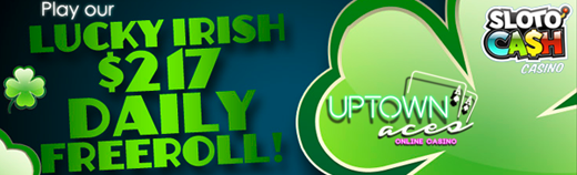 St Patricks Day Freeroll Tournaments