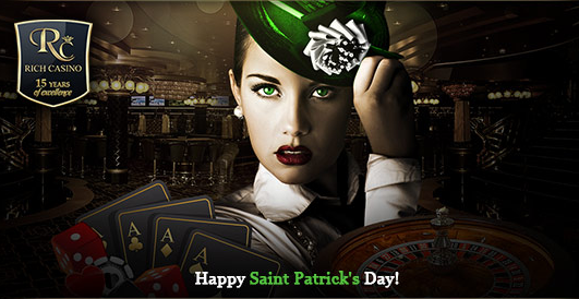 Rich Casino St Patricks Day Bonus