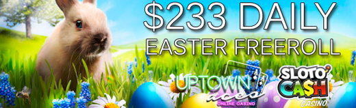 Easter Freeroll Slot Tournaments