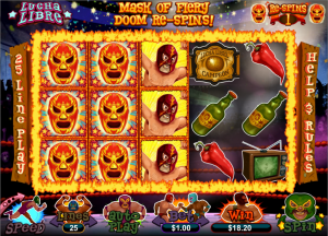 Lucha Libre Slot Free Spins