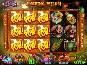 Lucky Red Casino Lucha Libre Slot Free Spins
