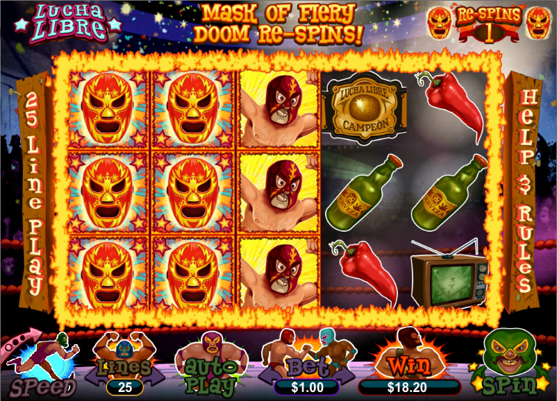 Dreams Casino Lucha Libre Slot Free Spins