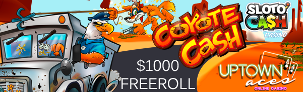 Coyote Cash Freeroll