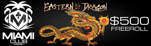 Eastern Dragon Slot Freeroll May