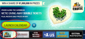 Fortune Lounge Cruise Promotion Free spins How to claim