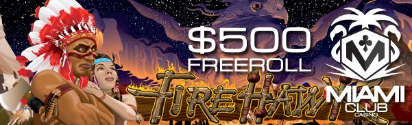 Weekend Slot Freeroll June 18