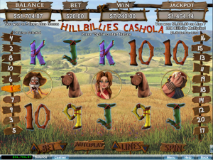 Hillbillies Cashola Slot Free Spins Aladdins Gold Casino