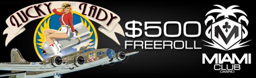 Freeroll Slots Tournament June 11