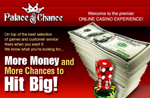 No Deposit Free Bonus Code Palace of Chance Casino
