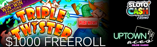 June 2015 Slots Freeroll Tournament