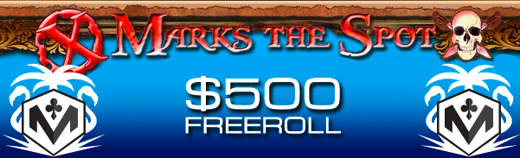 X Marks the Spot Slot Freeroll