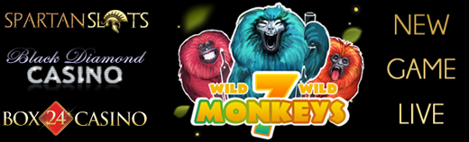 New 7 Monkeys Slot Bonuses