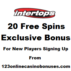 Intertops Exclusive Free Spins
