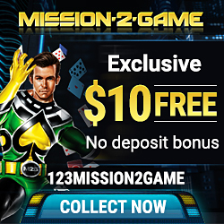 Mission 2 Game Casino Exclusive No Deposit Bonus