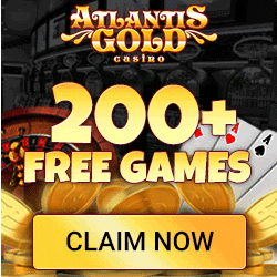 Atlantis Gold Casino Bonuses August 2015