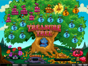 New Treasure Tree Game